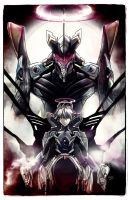 Kaworu Nagisa the Sixth. Rebuild of Evangelion 3.0 by studiomuku