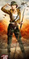 Lady Jaye from G.I. Joe by Jeffach