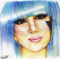 other lady gaga... for leo by rogerita