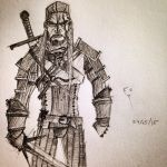 The Witcher : Geralt of Rivia by Theghost2001
