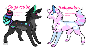 : S U G A R C A K E S : by sugarcakes-adopts