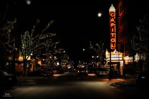 Christmas Downtown Series III by erbphotography