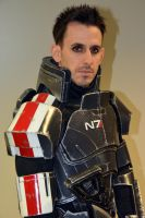 Commander Shepard - Mass Effect Cosplay 2014 by masimage