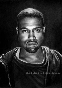 Kanye West - commission work by Thubakabra
