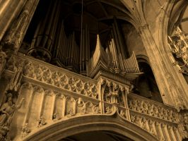 Variations on a Pipe Organ by znamenny