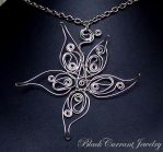 Silver Star by blackcurrantjewelry