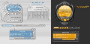 Spring Winamp3 Designs by vica