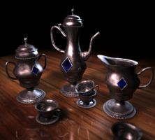 Teaset by Corvat
