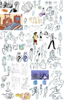 Sketchdump- Jan '12 by Nikki0417
