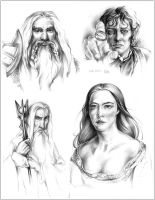 LOTR Characters - Part 2 by Callista1981