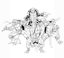 Inks for the fearsome 4 by 5000WATTS