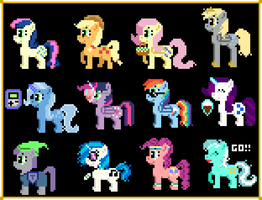 12 of the 14 by Zztfox