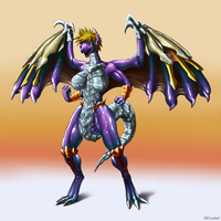 BAHAMUT LIFE CG COLOR by trunchbull by DEVIOUS-DISCORD-RP