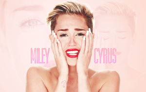 Miley Cyrus WALLPAPER Wrecking Ball by rockgodx