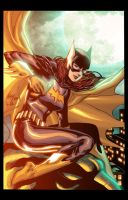 Batgirl by nighblade by wrathofkhan