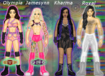 MyWWE: Intergender Tag by TerenceTheTerrible