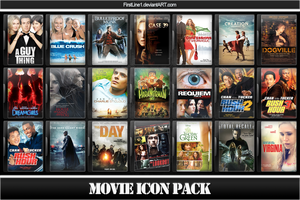 Movie Icon Pack 61 by FirstLine1