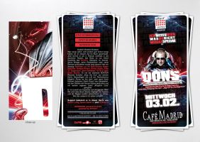 cafe madrid DONS flyer by homeaffairs