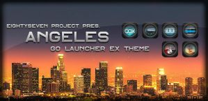 Angeles GO LauncherEX Theme by maciej-pl