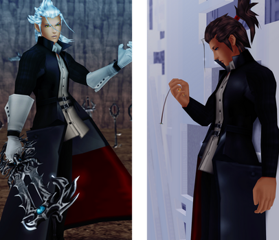 Xehanort and Terra - Post-War (XPS Download) by JointOperation
