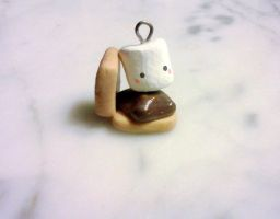 S'mores Charm by Cooliotha