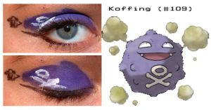 Pokemakeup 109 Koffing by nazzara