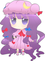 Fanart - Patchouli by natto-ngooyen