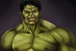 Hulk tribute by victter-le-fou