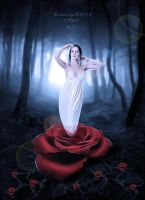 the rose lady by IMertTmyksl