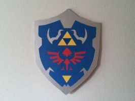 The Legend of Zelda Shield XII by Gryphon009