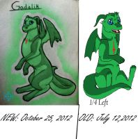 Gadalik -Old and New by TheDragonInTheCenter
