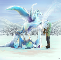 Ice horse by t22t