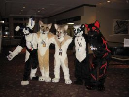 AnthroCon_Fursuiters by WolvenRemorse