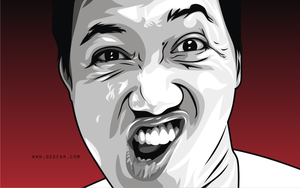 Bad Face Vector by ndop
