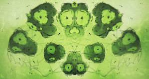 Rorschach monkeys by ani67