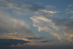 Sunset Clouds by crumpstock