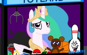 Celestia in Toyland by Roger334