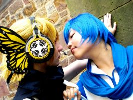 Vocaloid - kiss me by SuperMinaco
