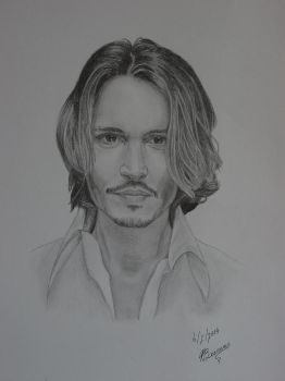 Johnny Depp by Cataclysm-X