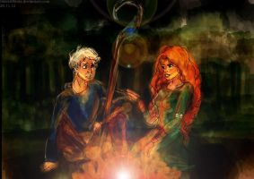 JACK FROST x MERIDA - I BELIEVE IN YOU by thisistiffania