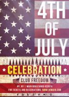 4TH of July - Flyer Template by VectorMediaGR