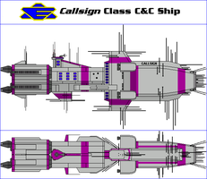 Callsign Class Command and Control Ship by MarcusStarkiller