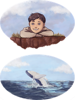 Dishonored: Daud and the whales by SarlyneART