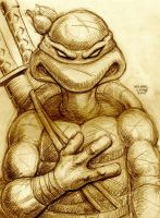 Leonardo 11-14-2015 by myconius