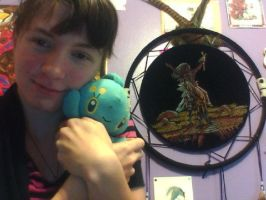 Me with Manaphy by GolfingQueen
