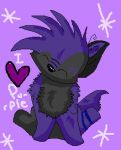 I heart purple by mckinneysh