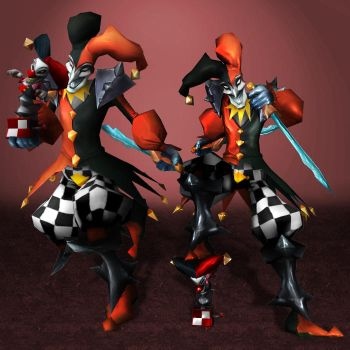 League of Legends Shaco by ArmachamCorp