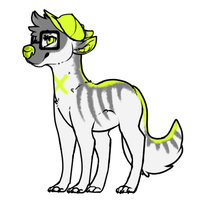 Dog-creature 2 adoptable CLOSED by snowgraywhite