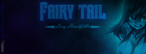 Lucy (Fairy tail) Couverture Facebook by spyrojojo