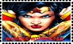 Wonder Woman Stamp by WOLFBLADE111
